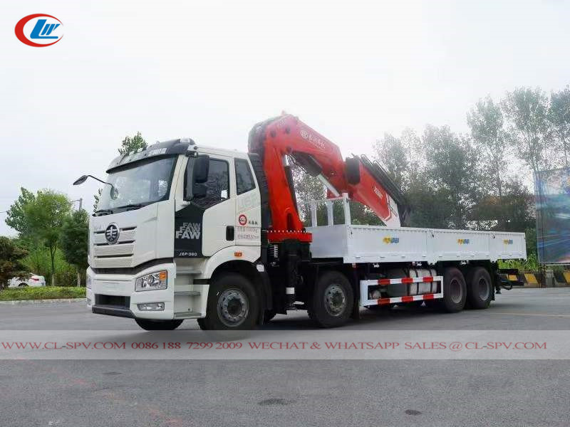 Faw Truck with crane