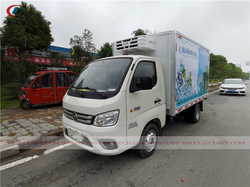 Foton refrigerated truck